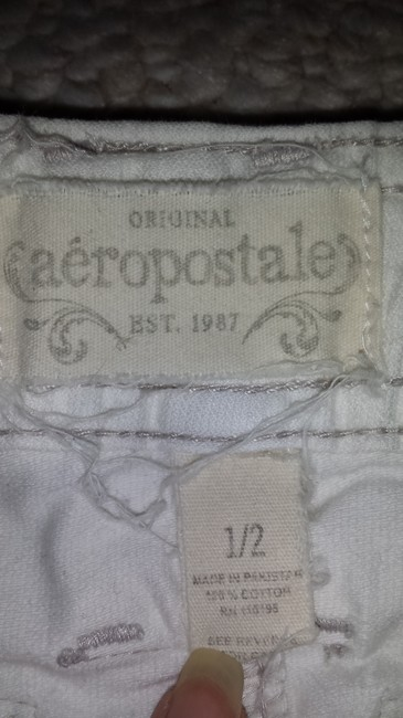 Aéropostale Mini Skirt White