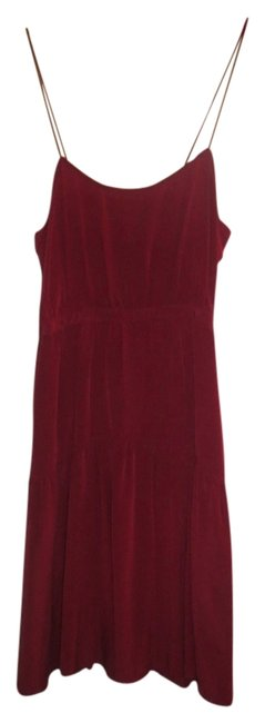 Geren Ford short dress Red on Tradesy