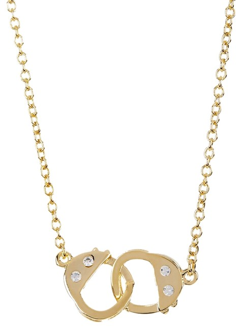 Item - Delicate Cuff Link Necklace