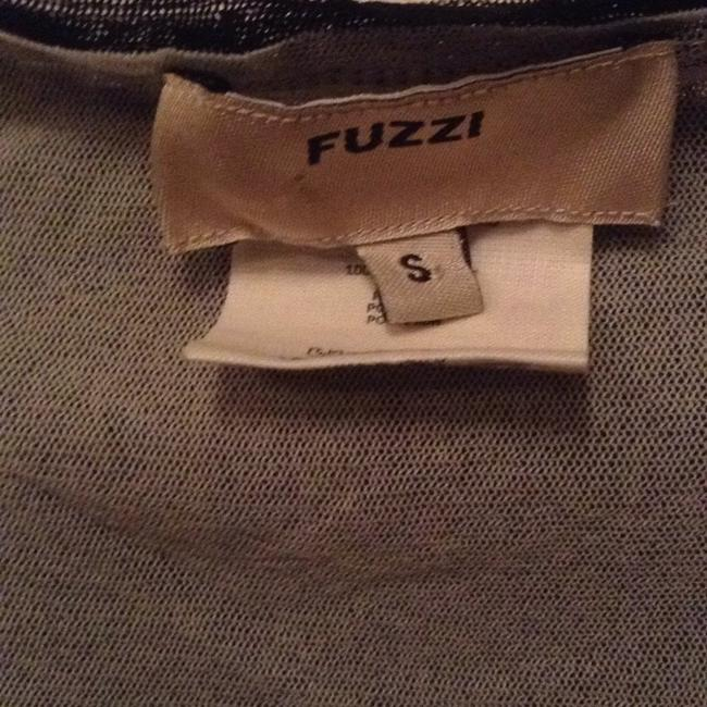 Fuzzi Top Black with silver accents Image 2