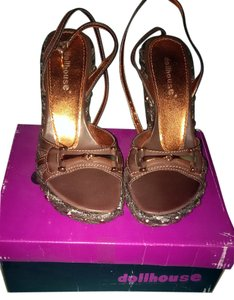 Dollhouse Brown Sandals