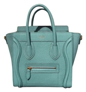 Céline Satchel in Antarctic Blue