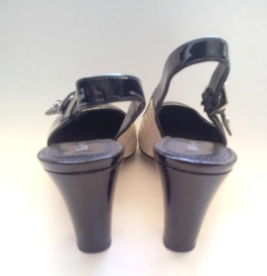 Anne Klein Black and White Sandals