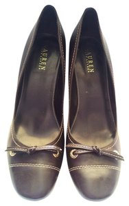 Ralph Lauren Chocolate Pumps