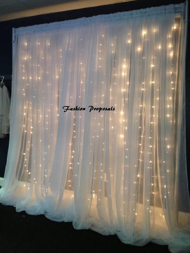 Led Backdrop Lights Led Backdrops Drapes With Voile