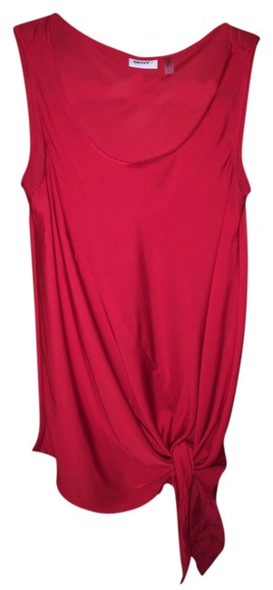 DKNY Top Red Image 0
