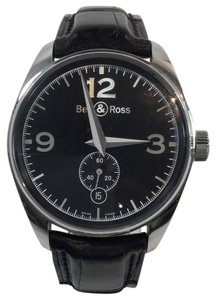 Bell & Ross Bell Ross Vintage Black Dial Mens Watch