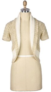 Anthropologie Sleeping Shrug Cream Angora Wool Cardigan