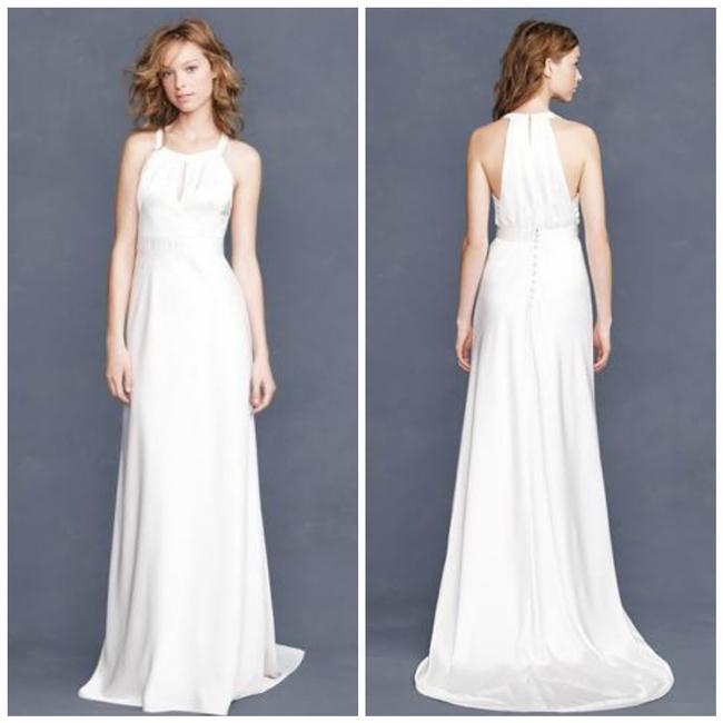 Item - Ivory Tricotine Bettina 69879 Casual Wedding Dress Size 6 (S)