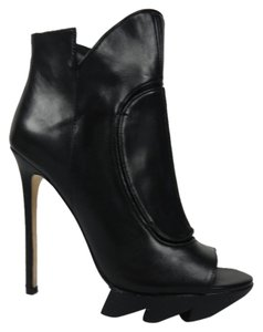 Camilla Skovgaard Leather Edgy Rocker Black Boots