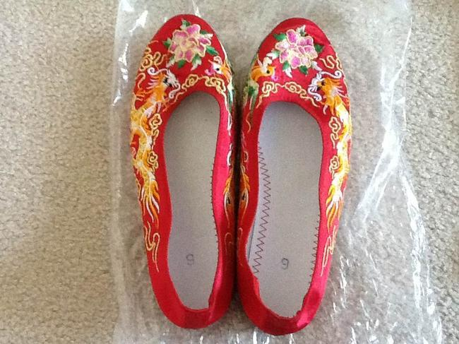 Red Chinese Style Formal Size US 6 Red Chinese Style Formal Size US 6 Image 1