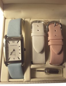 Charter Club charter club watch with 2 additiknal interchangeable bands