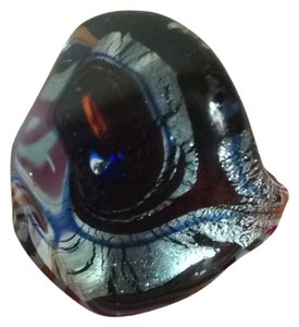 Murano authentic murano italy glass ring