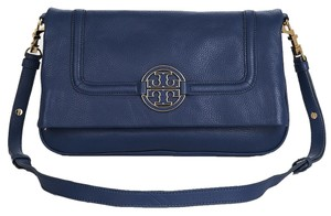Tory Burch Blue Messenger Bag