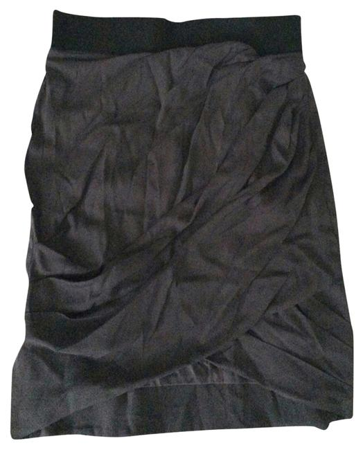 Elizabeth and James Skirt Charcoal Gray