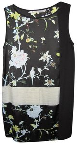 Rachel Roy short dress Black with multi-colored design on Tradesy