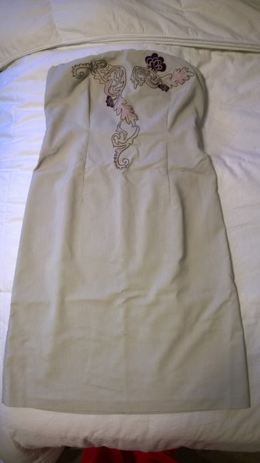 New York & Company short dress Khaki on Tradesy