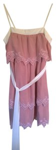 Lubrvia short dress carnation pink on Tradesy