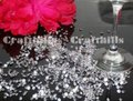 Pink 10 000 Pcs Acrylic Diamond Confetti 4.5mm For Party Floral Centerpiece Receiption Table Scatters Ceremony Decoration Image 1