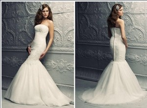 Paloma Blanca 4216 Wedding Dress