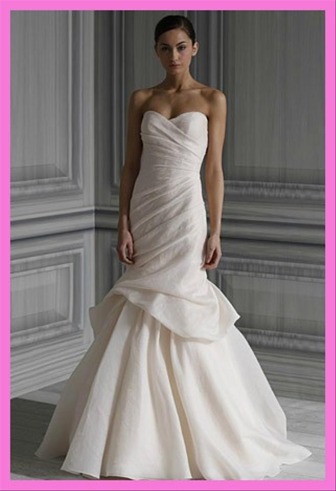 00 monique lhuillier eternity wedding dress 1350 00 for Monique lhuillier pink wedding dress