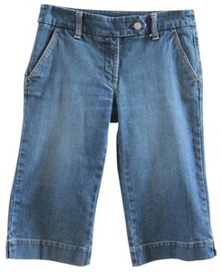 New York & Company Capri Capri/Cropped Denim-Dark Rinse