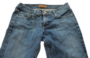 James Jeans Designer Straight Pants Stonewashed Blue