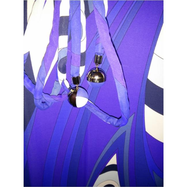 Emilio Pucci dress with belt short dress Emilio pucci Blue, purple and white on Tradesy Image 10
