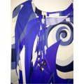 Emilio Pucci dress with belt short dress Emilio pucci Blue, purple and white on Tradesy Image 4