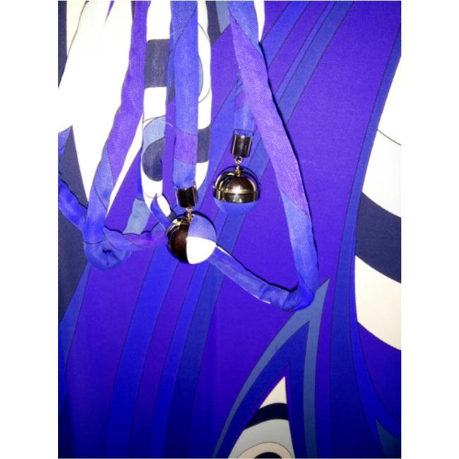 Emilio Pucci dress with belt short dress Emilio pucci Blue, purple and white on Tradesy Image 6