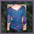 One Clothing Top Teal, Purple Image 2