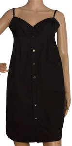 Jean-Paul Gaultier short dress black Cotton on Tradesy