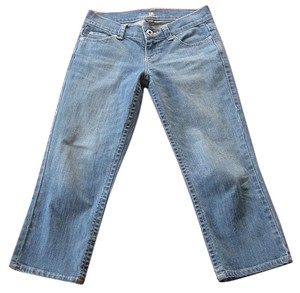 New York & Company Capri/Cropped Denim-Medium Wash