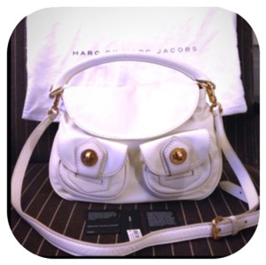 Marc by Marc Jacobs Satchel in Light Vanilla