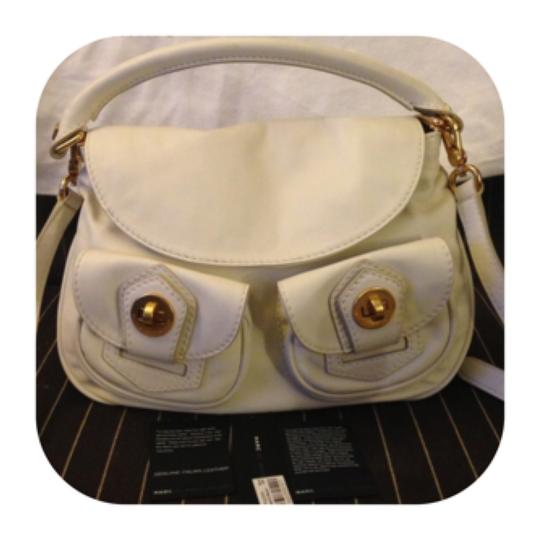 Marc by Marc Jacobs Satchel in Light Vanilla Image 1