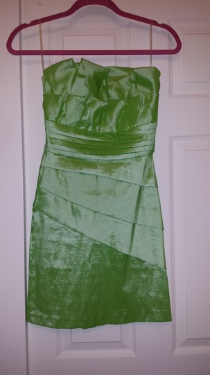 Romeo & Juliet Couture Spring Green Dress