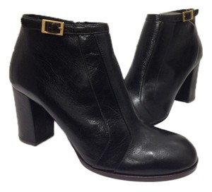Chie Mihara Cool Stylish Fall Winter Classic Leather New BLACK Boots