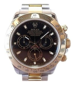 Rolex Rolex Two Tone Cosmograph Daytona Watch 40mm K18 & Ss