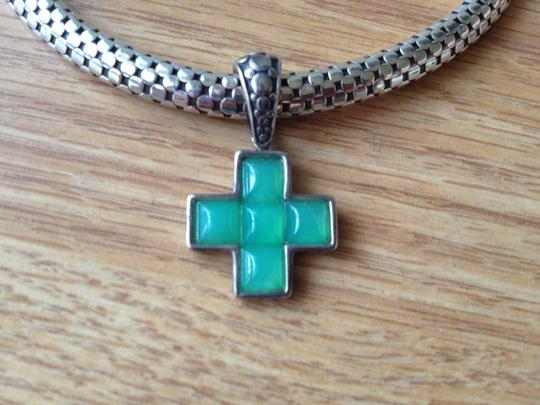 John Hardy John Hardy Jade Cross Necklace