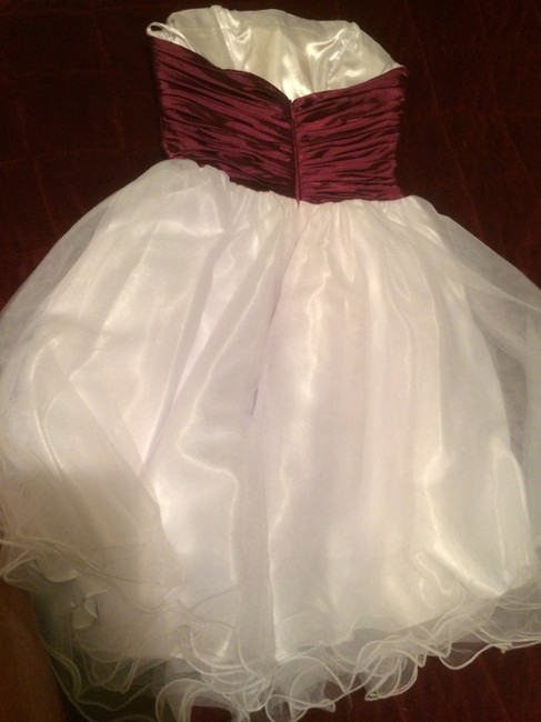 Aspeed Designs Cocktail Prom Short Poofy White Rhinestones Homecoming Dress