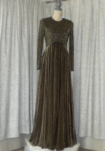 Victoria Royal Ltd Beaded Floor Length Dress