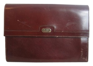 Gianni Firenze Red Clutch