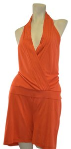INC International Concepts I.N.C International Concepts Bright Orange Rompers Size XL