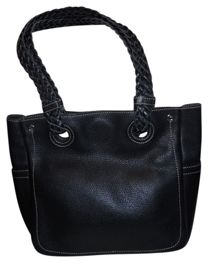 Preload https://img-static.tradesy.com/item/817644/nordstrom-pebbled-black-leather-tote-0-0-540-540.jpg