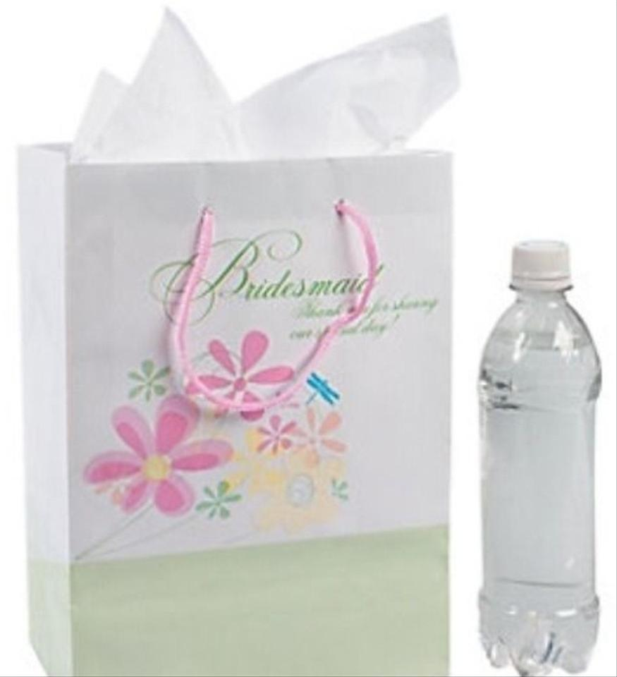 White 1 Bridesmaid Gift Bag Wedding Favors - Tradesy