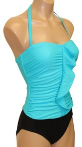 Tropical Honey SWIMSUIT 8 NWT TROPICAL HONEY SLIMMING SHAPETEX TWICE HOLD POWER $84 DET HALTER