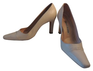 Manolo Blahnik Bone Pumps