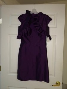 Jim Hjelm Occasions Plum Jh5214 Formal Dress Size 6 (S)