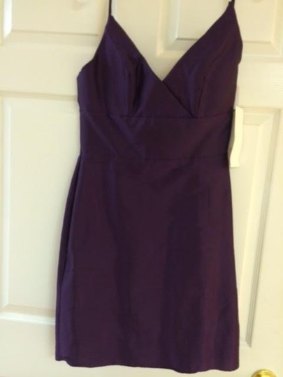 Jim Hjelm Occasions Plum Jh5214 Formal Bridesmaid/Mob Dress Size 6 (S)