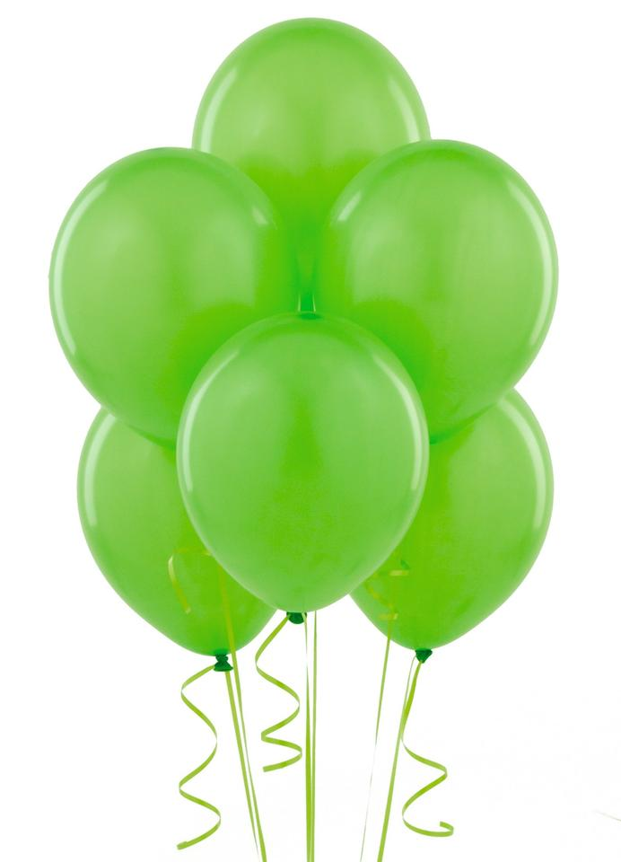 Apple green 24 pcs 12 birthday party decor latex for Table width latex